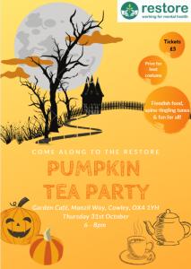 Pumpkin Tea Party @ RESTORE GARDEN CAFE